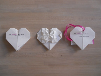 Bomboniere Matrimonio Origami.Origami Wedding The Pink House